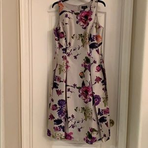 Tahari floral dress size 10